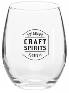 Spirit Festival taster glass