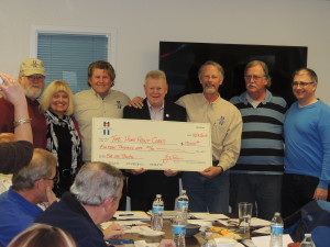 ACBF presents check to the Home Front Cares