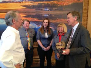 Champion Award with John Hickenlooper