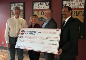 Check presentation at UCCS Giving Tuesday